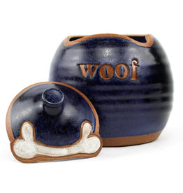 Lulu Ceramics Ceramic Treat Jar Woof