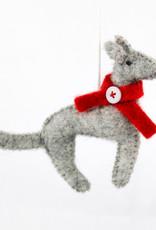 Global Crafts Felt Dog Ornament