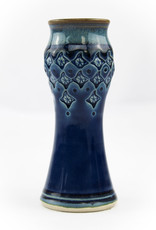 Plays in Mud Pottery Small Amphora Vase w/ Half Pattern