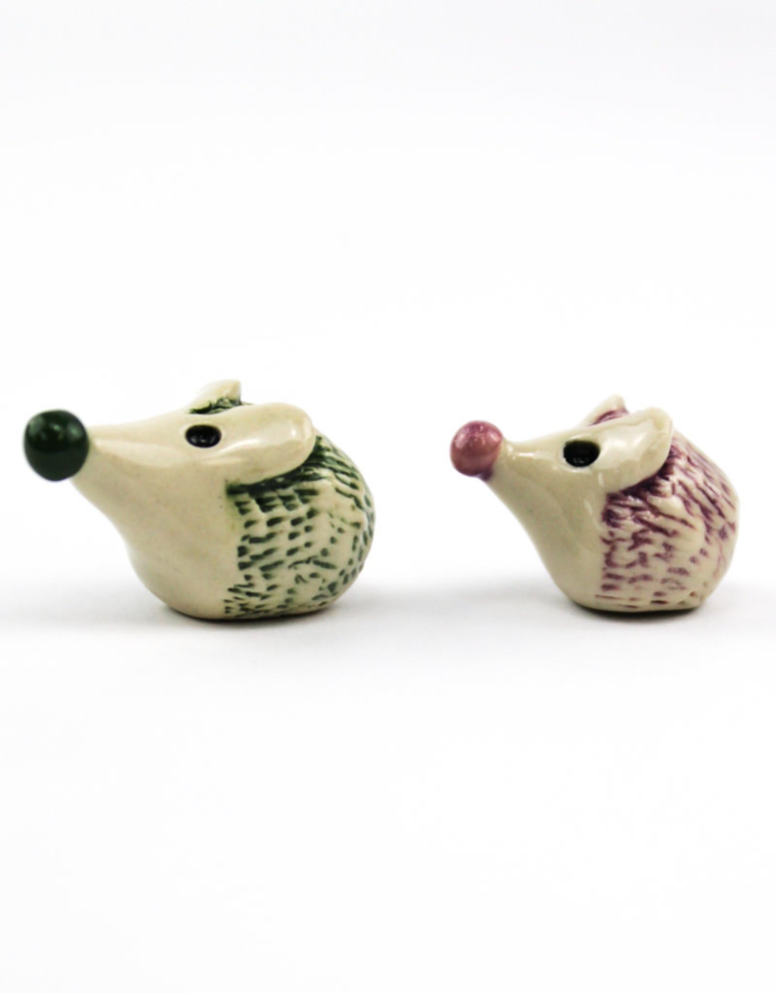 Plays in Mud Pottery Heroic Hedgehogs