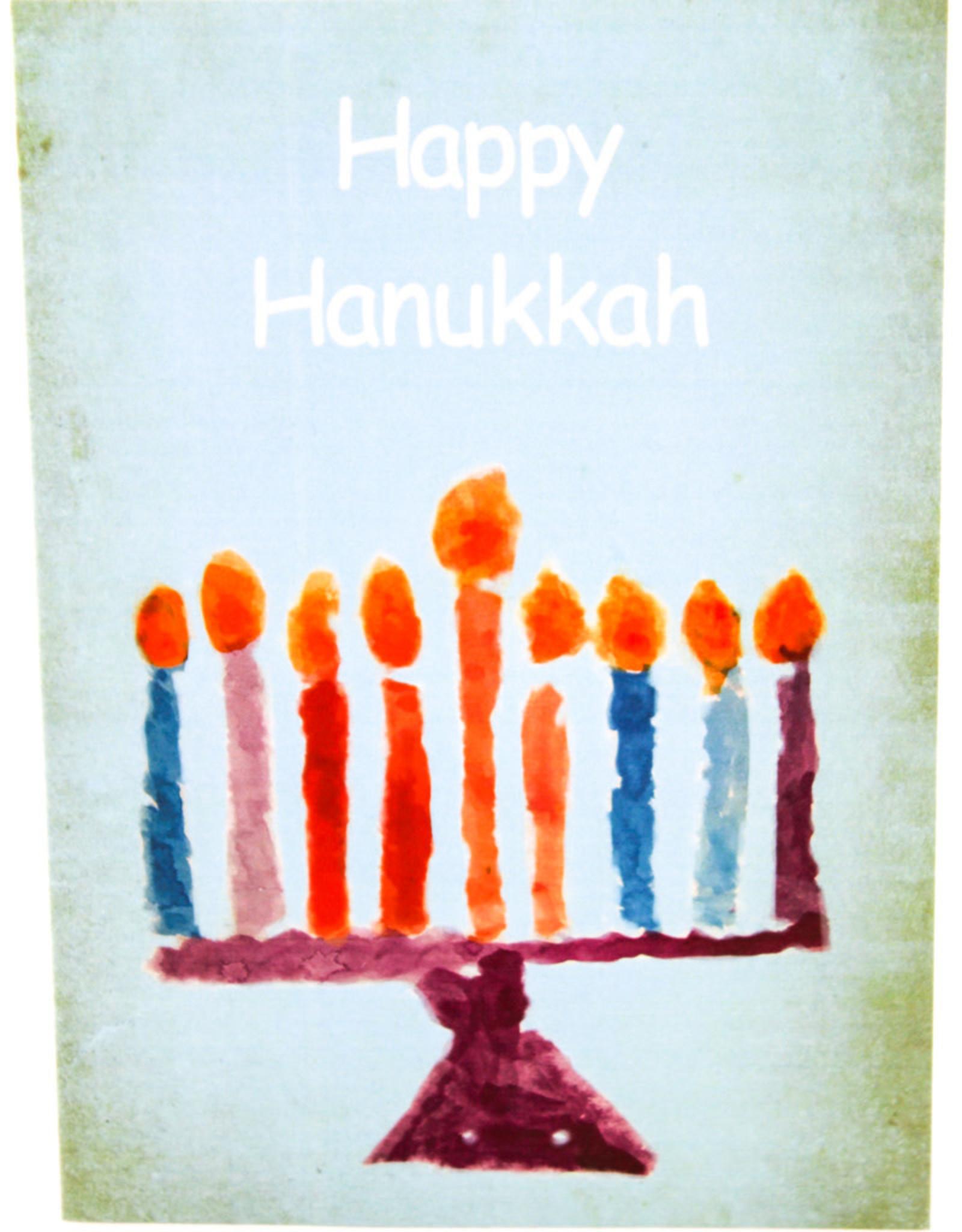 Create Holiday Card-Menorah