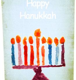 Create Menorah Happy Hanukkah