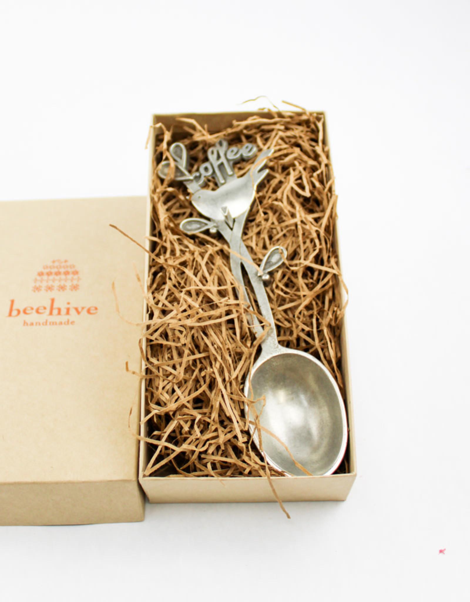 Beehive Handmade Bird Coffee Scoop