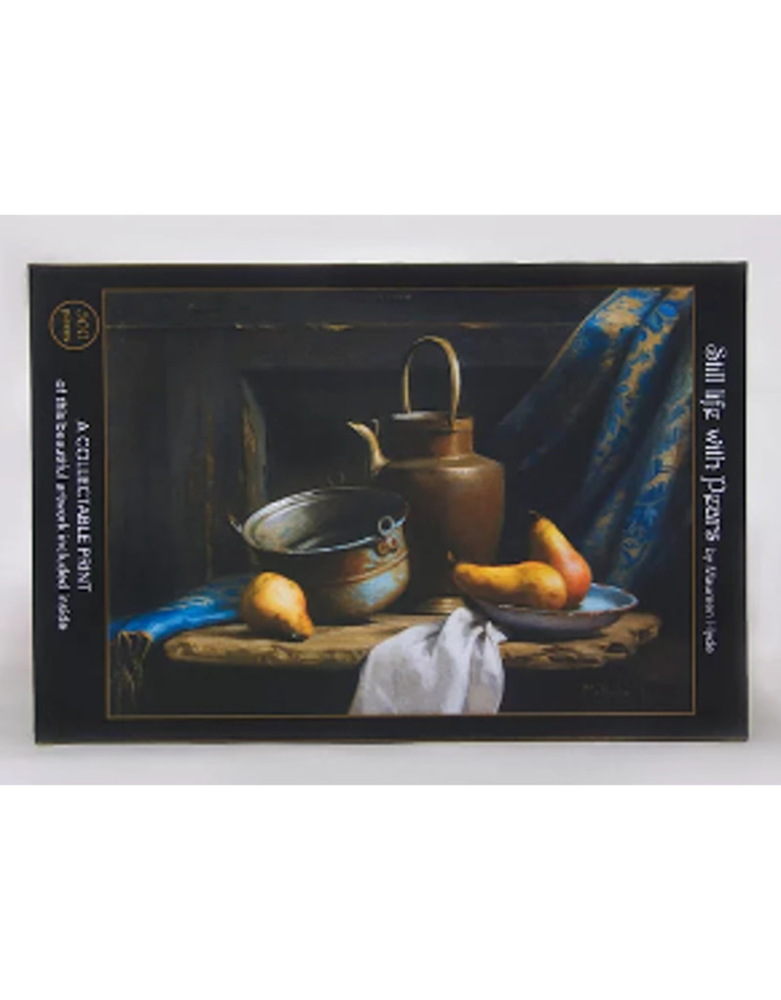 Art & Fable Still Life with Pears  Jig Saw Puzzle