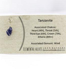 Elemental Allies Tanzanite Pendant Genuine Gemstone