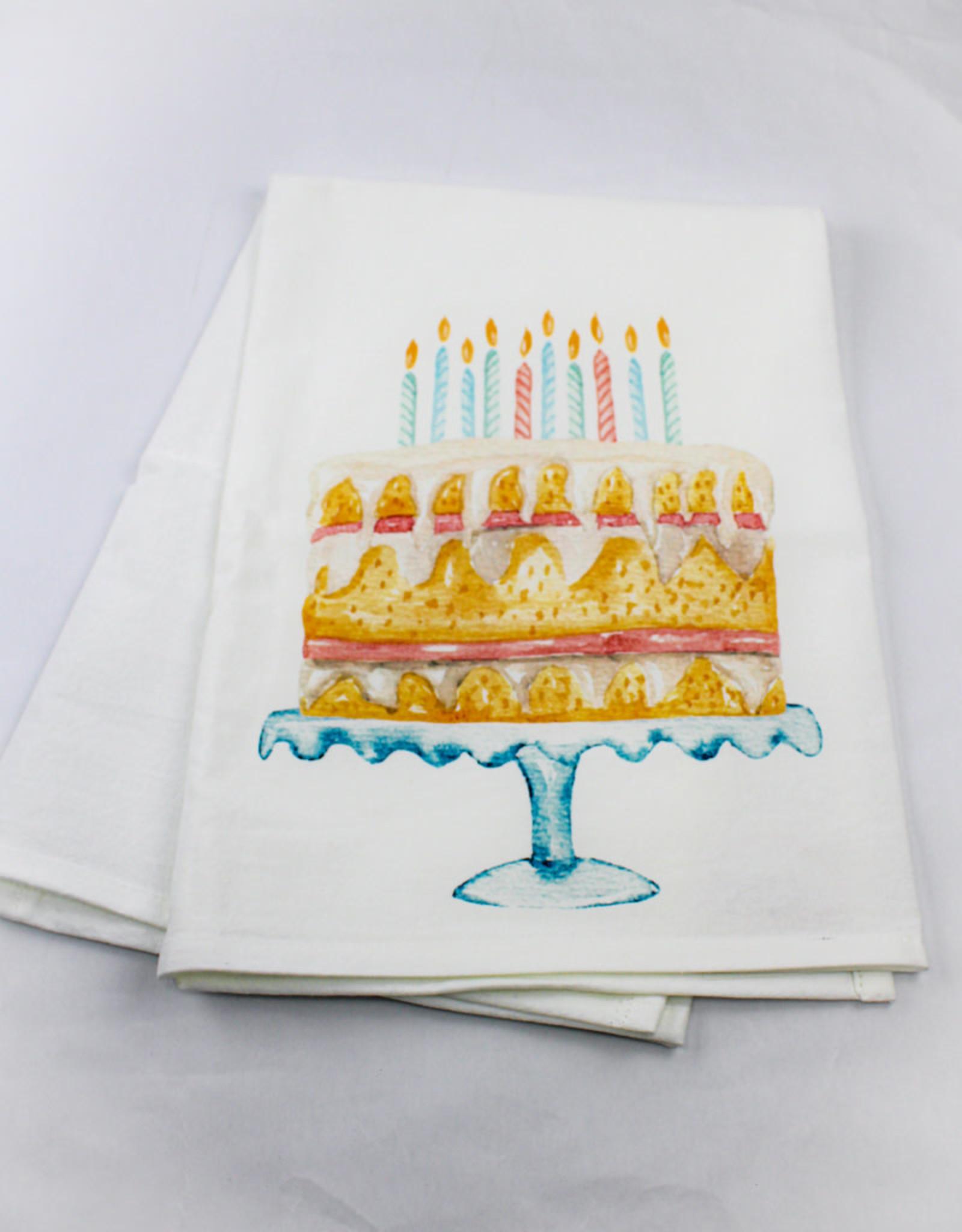 Kitchen Billboards Happy Birthday Kitchen Towel