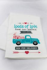 Kitchen Billboards Loads of Love Kitchen Towel