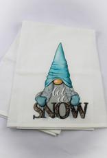 Kitchen Billboards Snow Gnome Kitchen Towel