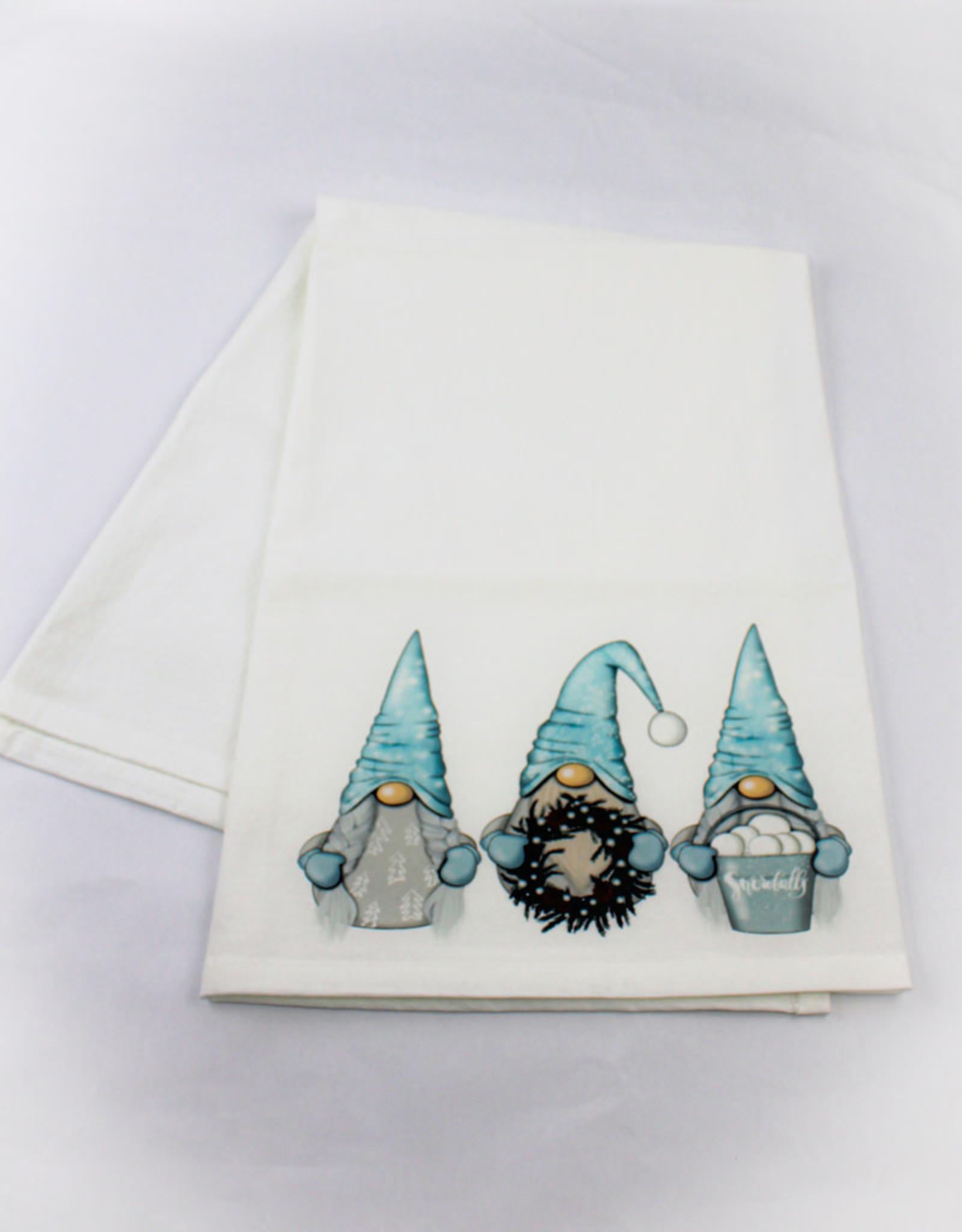 Kitchen Billboards Winter Gnomes Kitchen Towel