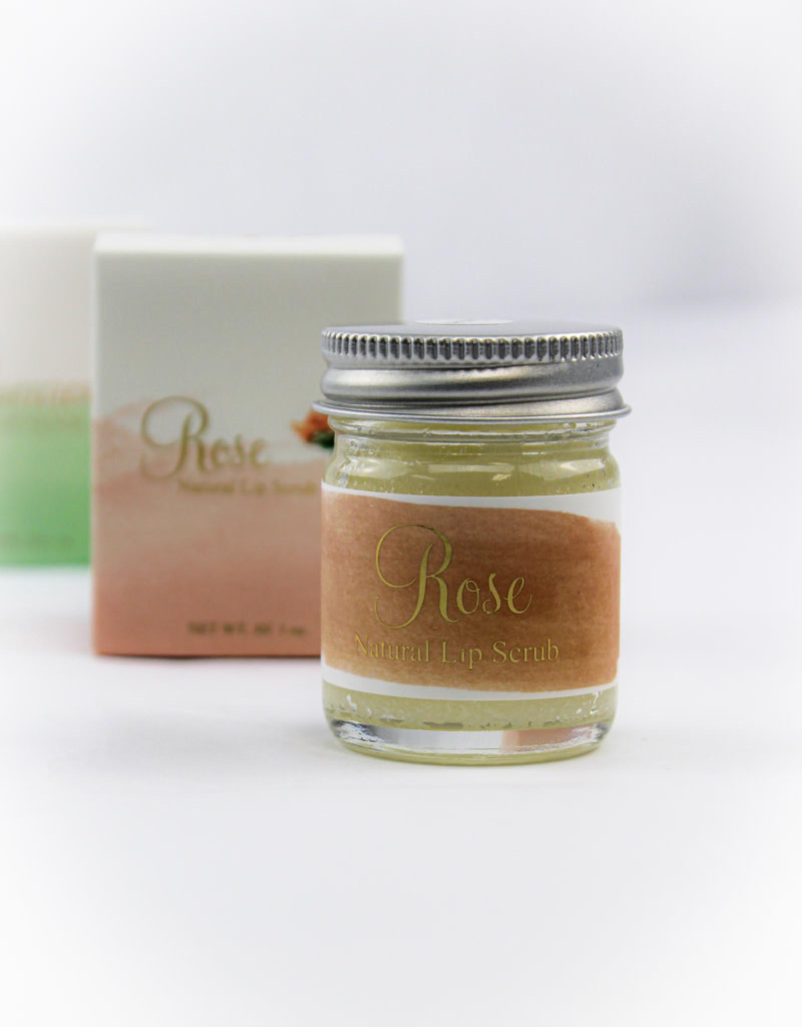 Latika Body Edible Sugar Lip Care Kit - Rose