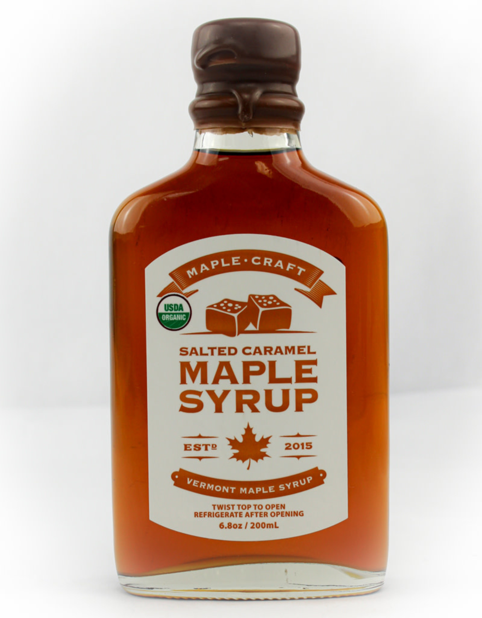 Maple Craft Foods Salted Caramel Maple Syrup