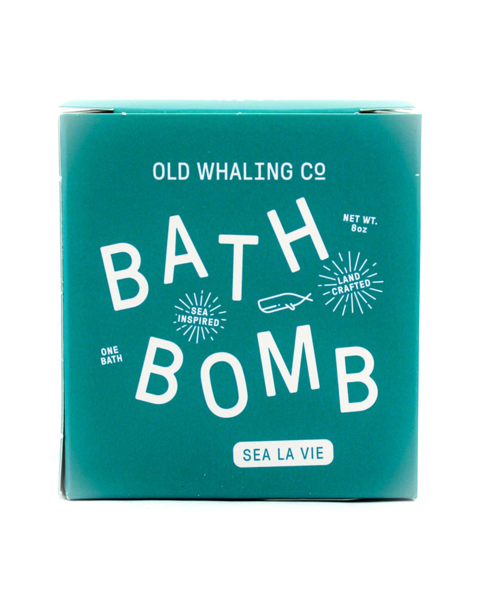 Old Whaling Company Sea La Vie Bath Bomb