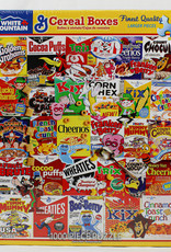 White Mountain Puzzles Cereal Boxes 1000 pc Puzzle