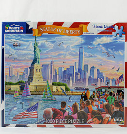White Mountain Puzzles Statue of Liberty 1000 pc Puzzle