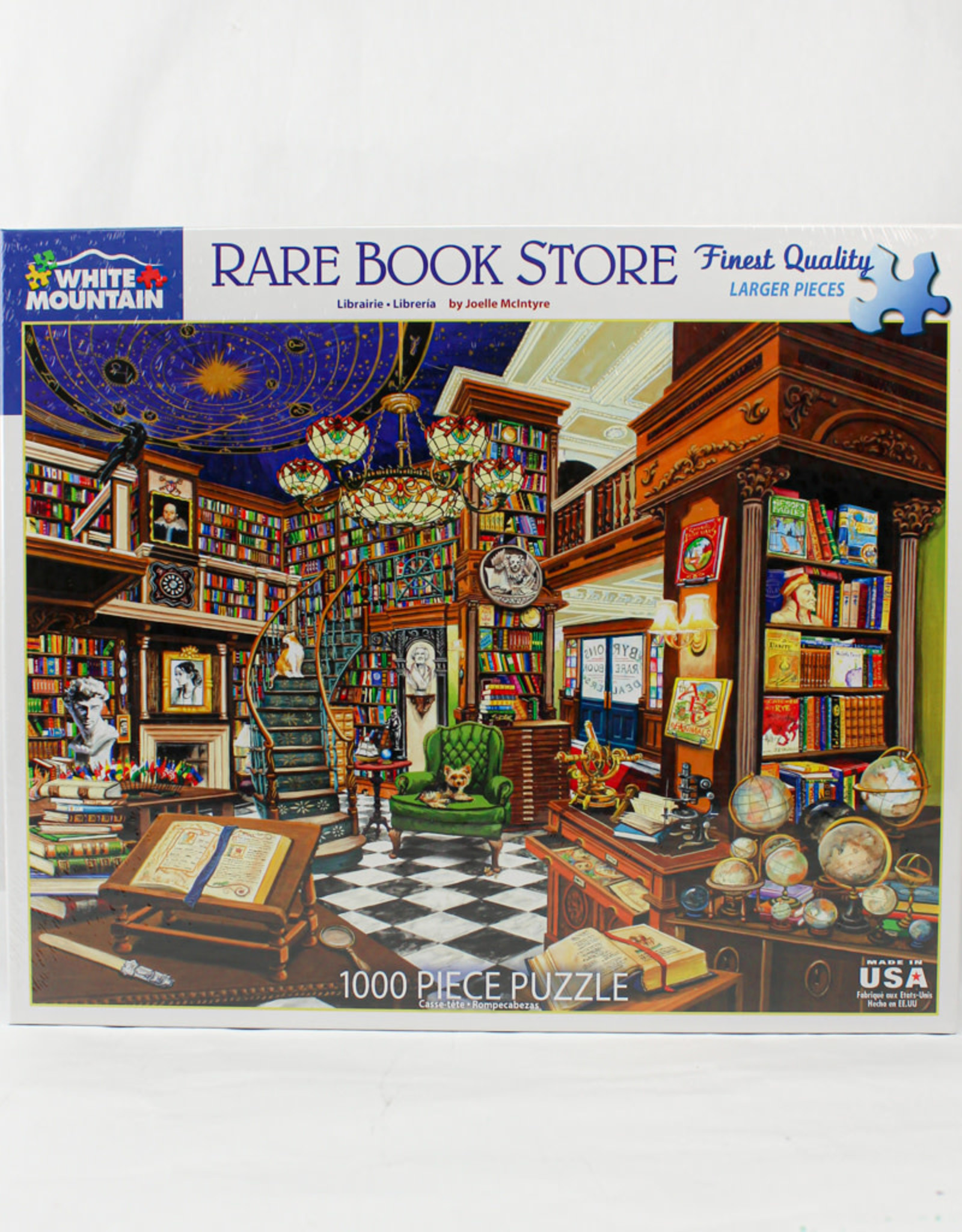 White Mountain Puzzles Rare Book Store 1000pc Puzzle
