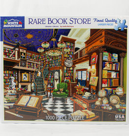 White Mountain Puzzles Rare Book Store 1000pc Puzzle