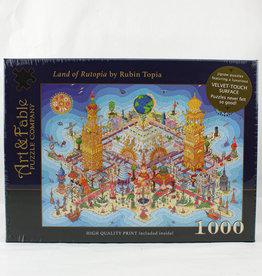 Art & Fable Land of Rutopia 1000pc Velvet Touch