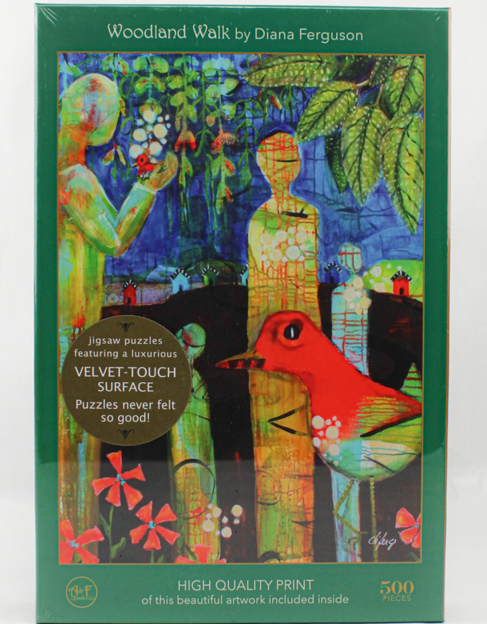 Art & Fable Woodland Walk  Velvet Touch