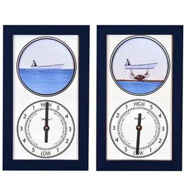 Tide Pieces Tide Clock Crab