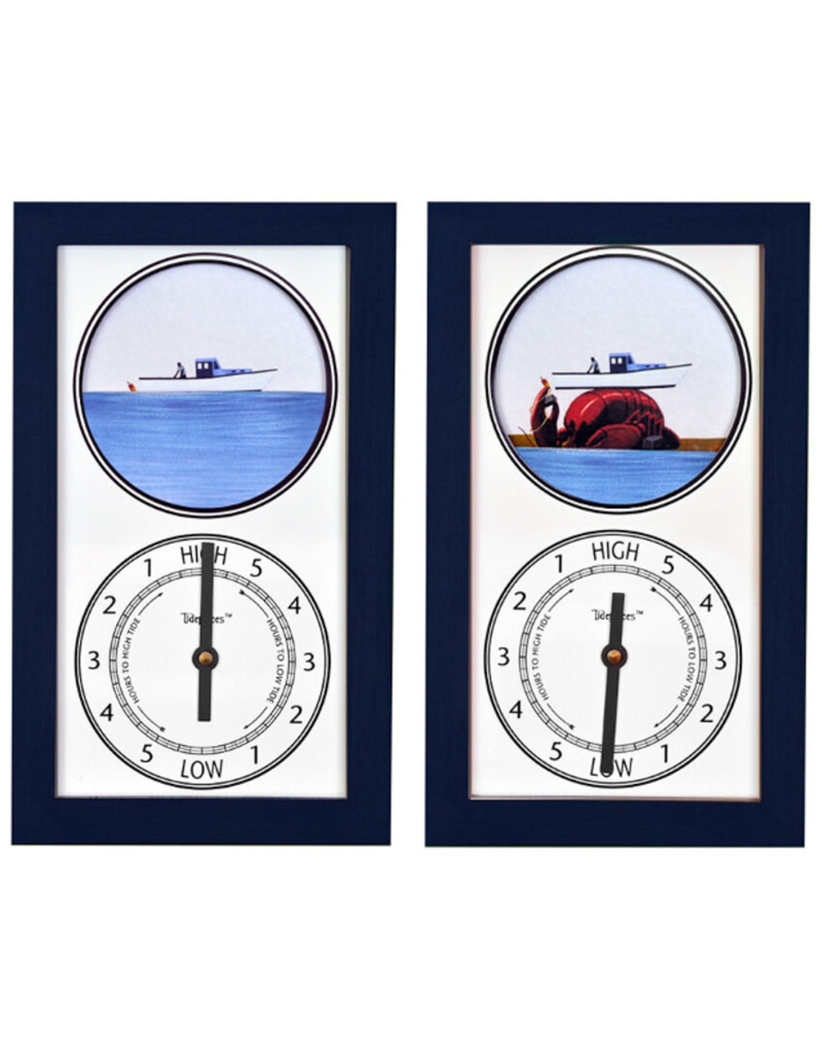 Tide Pieces Tide Clock Lobster