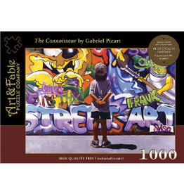 Art & Fable The Connoisseur 1000pc Velvet Touch