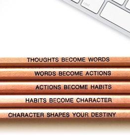 Fresh Prints of CT Gandhi Quote Pencils