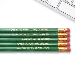 Fresh Prints of CT Yoda Quote Pencils