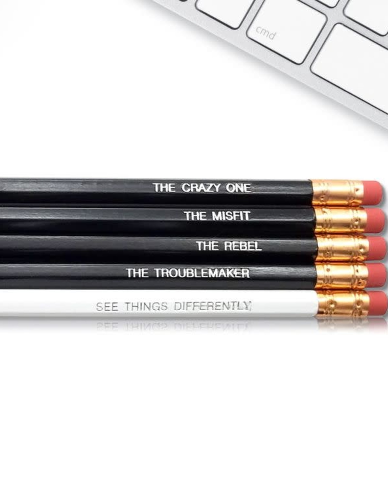 Fresh Prints of CT Steve Jobs The Crazy One Pencils