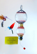 Salusa Glassworks Inc. Hummingbird Feeder