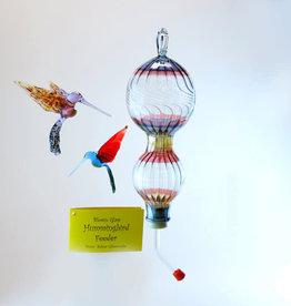 Salusa Glassworks Inc. Hummingbird Feeder