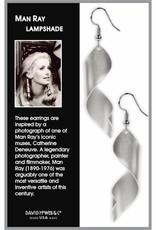David Howell & Company Man Ray Lampshade Earrings