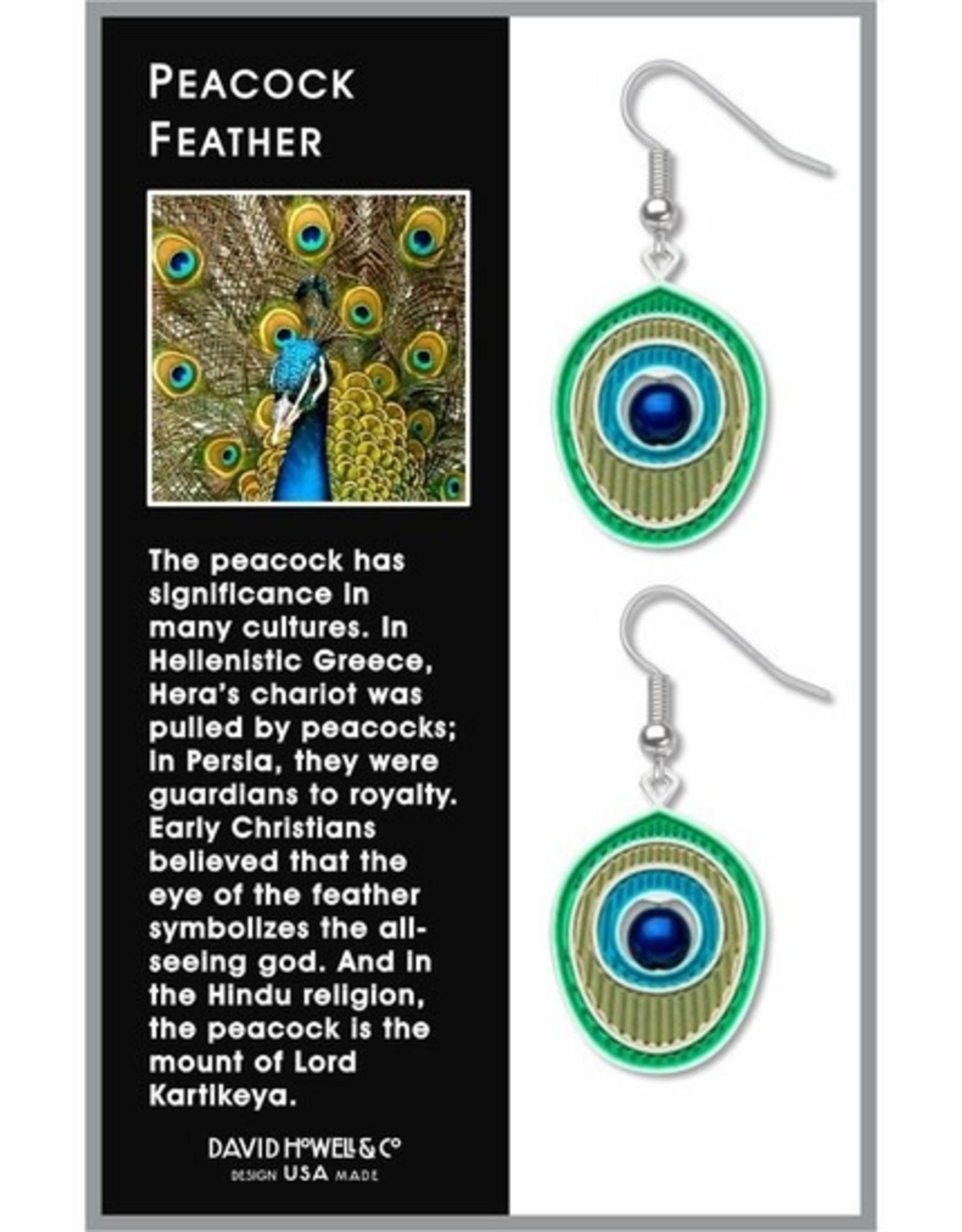 David Howell & Company Peacock Feather