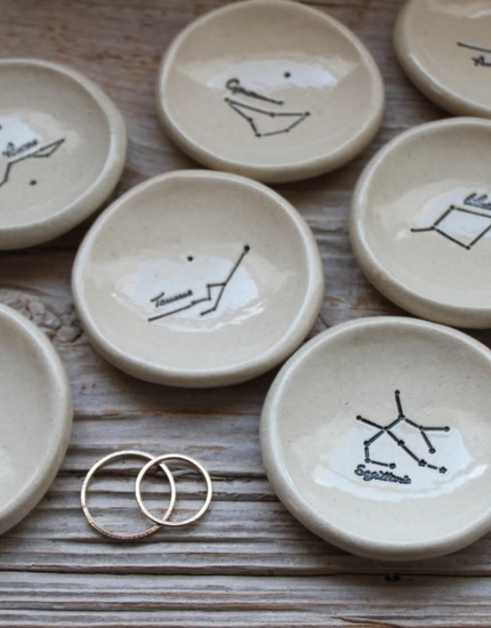 Tasha McKelvey Zodiac Constellation Ring Dish