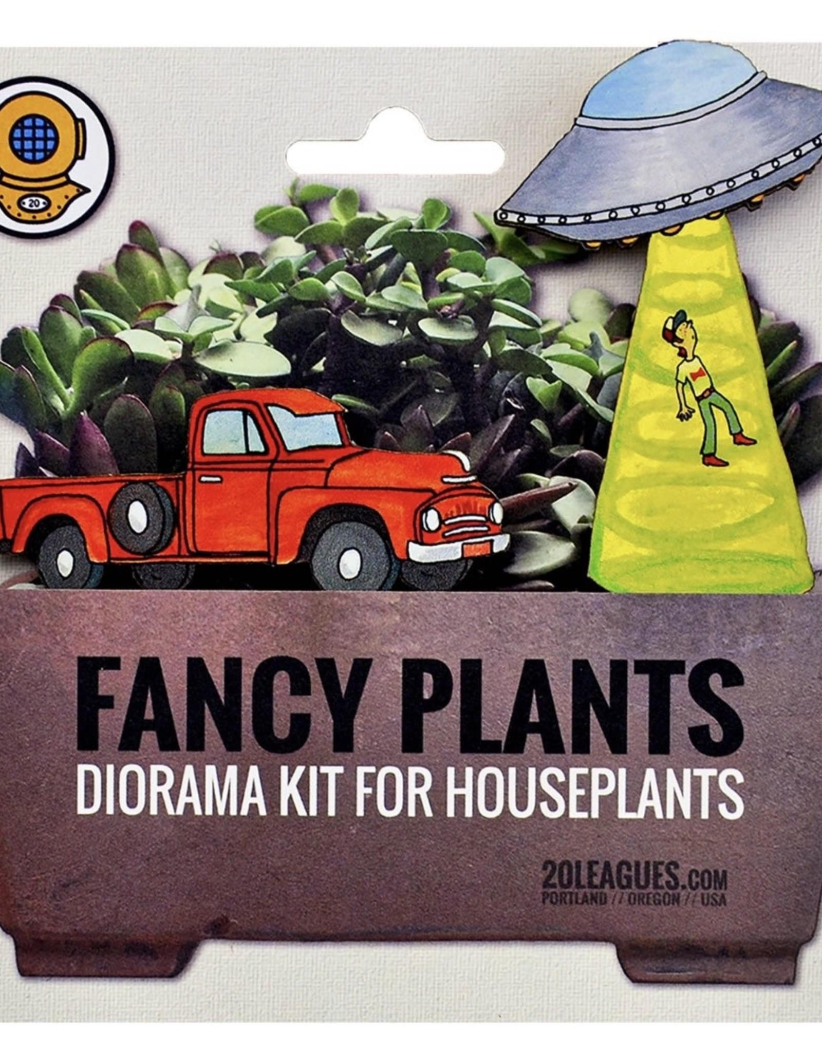 20 Leagues UFO Abduction Fancy Plants Kit