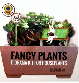 20 Leagues Bunny Bus Stop Fancy Plants Kit