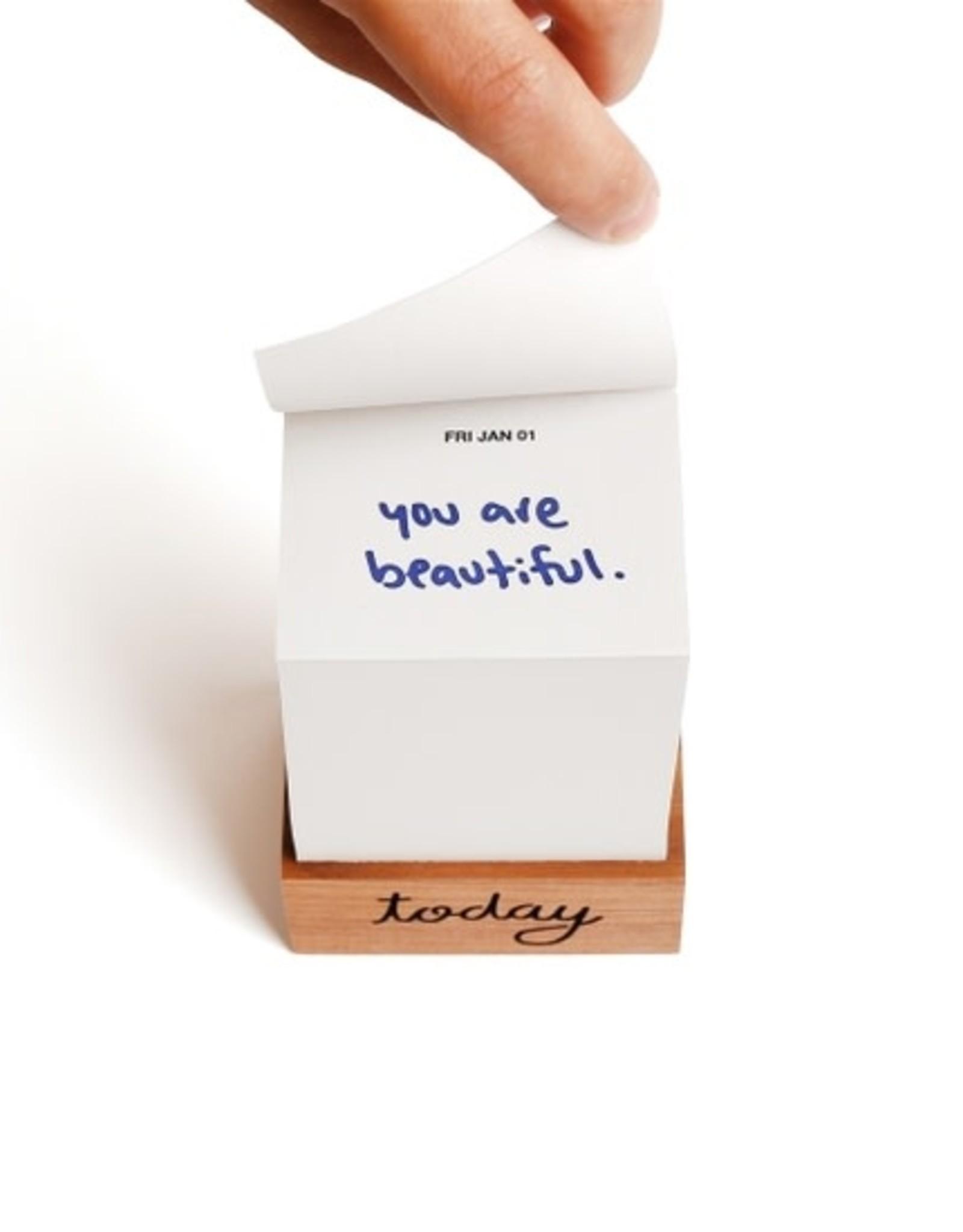 You Are Beautiful 2021 Daily Calendar