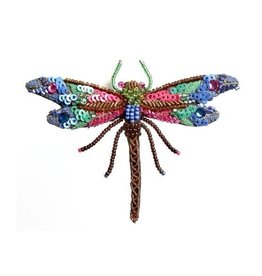 Trovelore Braid Dragonfly Brooch Pin