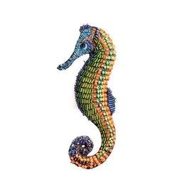 Trovelore Fern Seahorse Brooch Pin