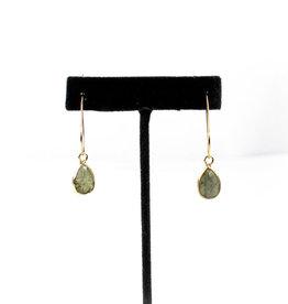 Mesa Blue Labradorite Drop Earrings