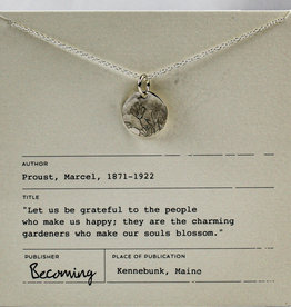 Becoming Jewelry Blossom Necklace-Sterling