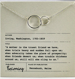 Becoming Jewelry Mother Necklace-Sterling