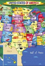 White Mountain Puzzles United States of America 300pc Puzzle