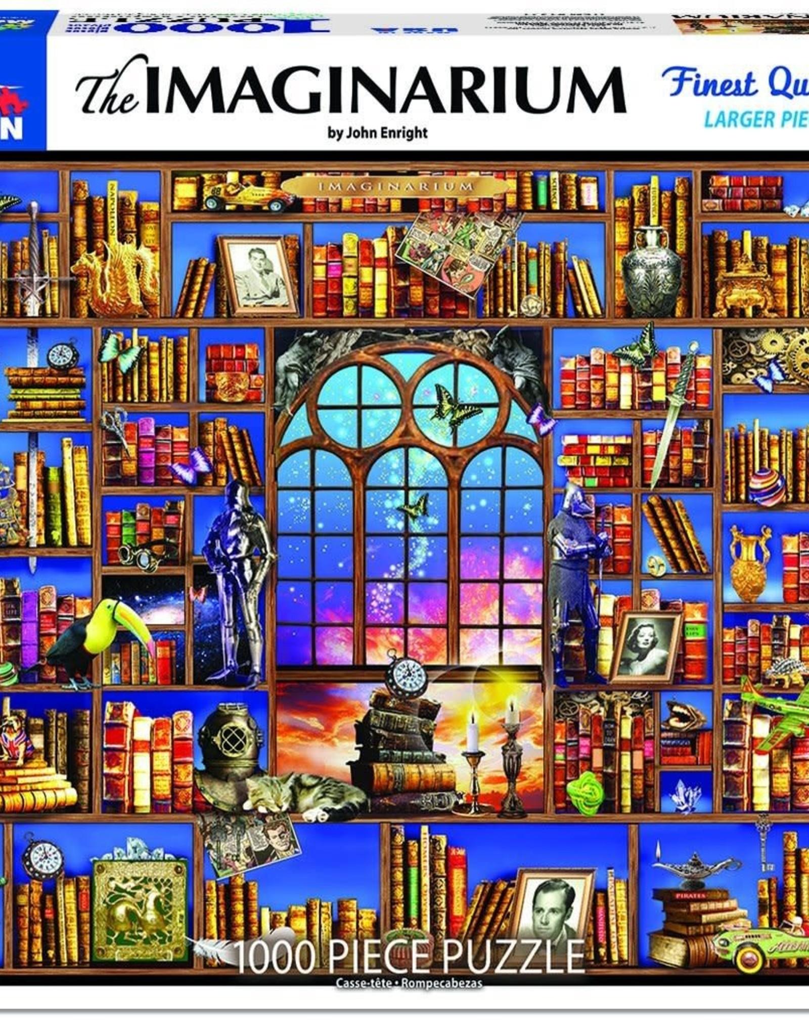 White Mountain Puzzles Imaginarium 1000pc Puzzle