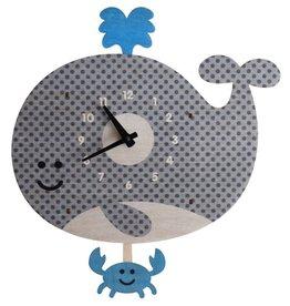 Modern Moose Whale Pendulum