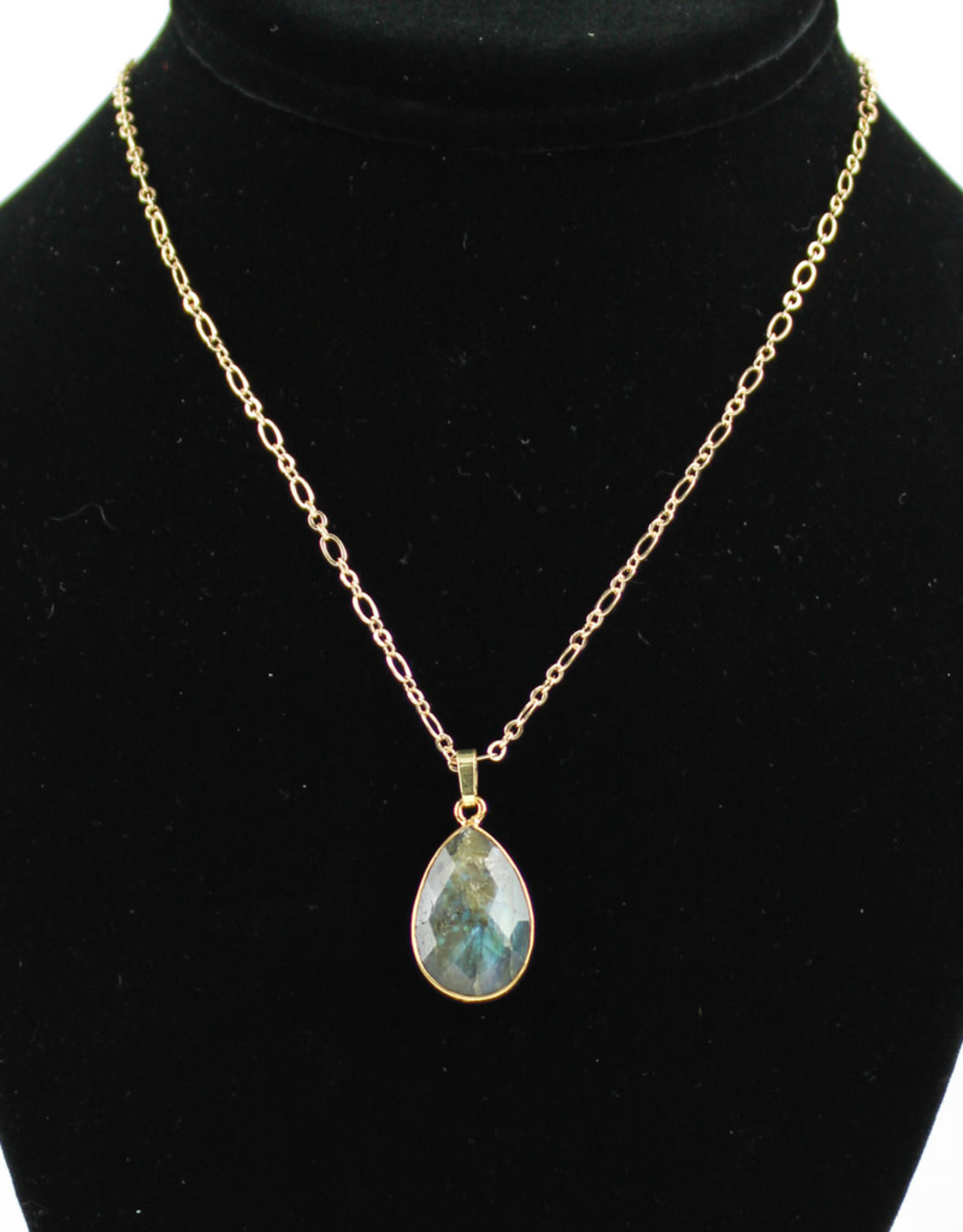 Mesa Blue Labradorite Necklace