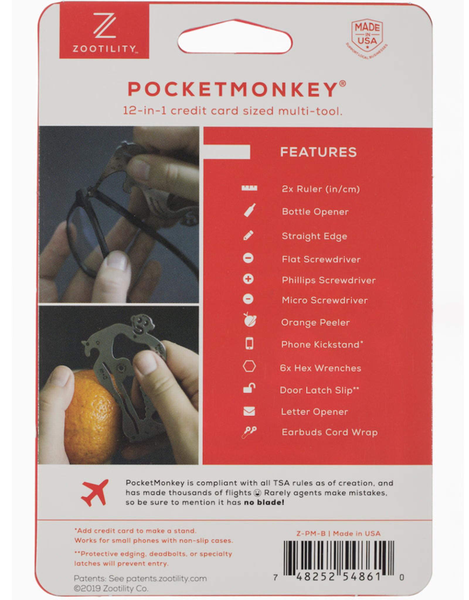 Zootility Tools PocketMonkey Deluxe