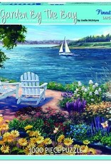 White Mountain Puzzles Garden by the Bay 1000pc Puzzle