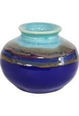 Clay in Motion Mini Vase - Mystic Water