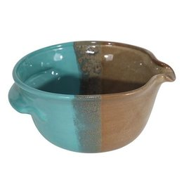 Clay in Motion Batter Bowl - Ocean Tide Small