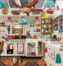 White Mountain Puzzles Retro Kitchen Seek & Find 1000pc Puzzle